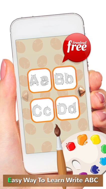 ABC Alphabets Tracer Coloring Book: Preschool Kids Easy Learn To Write ABCs Letters! screenshot-4