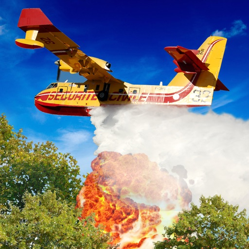 Airplane Firefighter Pilot PRO - Full Realistic Flying Simulator Version