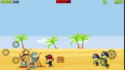 Zombie shooter gunship frontier world war screenshot two