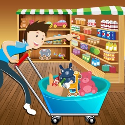 Kids Supermarket Shopping Simulator : Learn shopping around in superstores