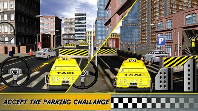 Yellow Taxi Driver Parking - Crazy Cab In New york City Traffic Simulator screenshot four