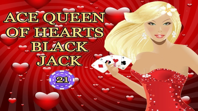 Ace Queen Of Hearts - Black Jack Beat The Vegas Casion Competition