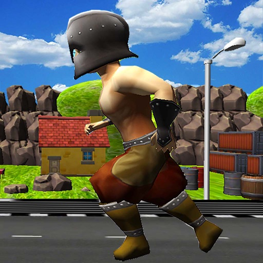 Glory Run : Tiny Gladiator Escape Free icon