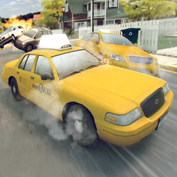 Free Taxi Driver Racing Game 3D