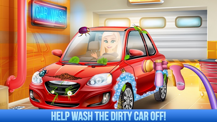 My Car Wash - Boys Truck Salon & Kids Cars Games Screenshot