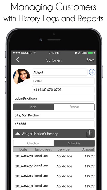 Salon Manager Pro screenshot-1