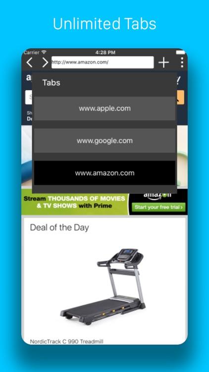 Pegasus Browser - Ad Blocker screenshot-4