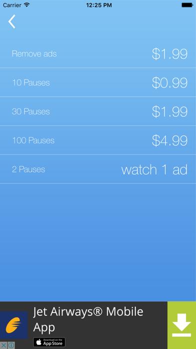 Don't Stop App screenshot four