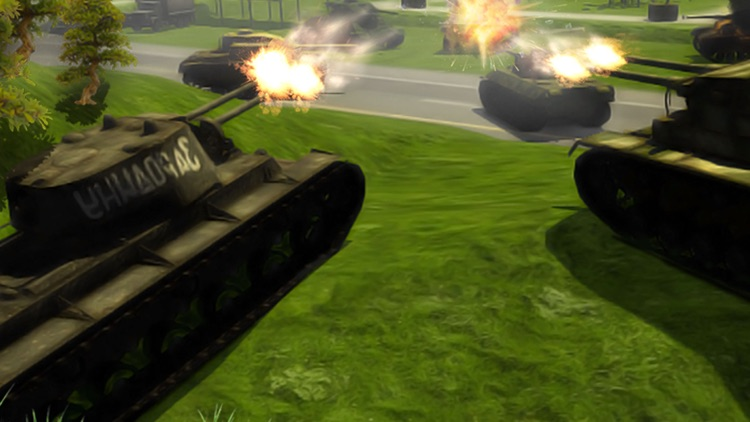 Clash of Tanks Tropical Island Warfare First Person Missile Shooter Games screenshot-4