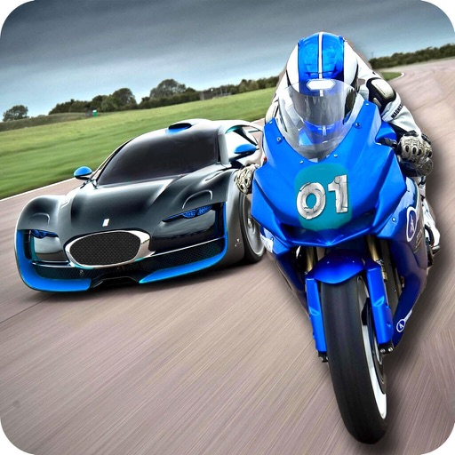 Super Bike Highway Rider