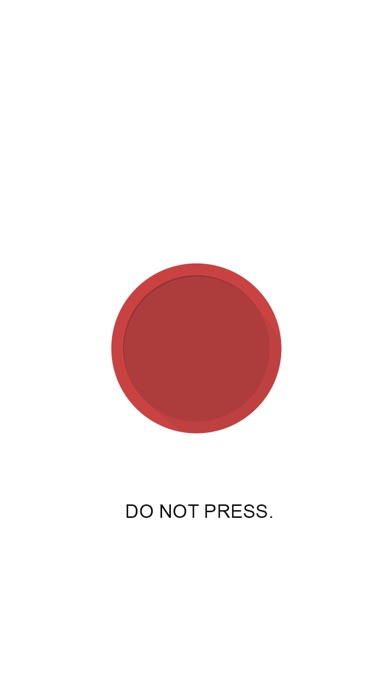 Do Not Press The Red Button - Don't Tap The Button