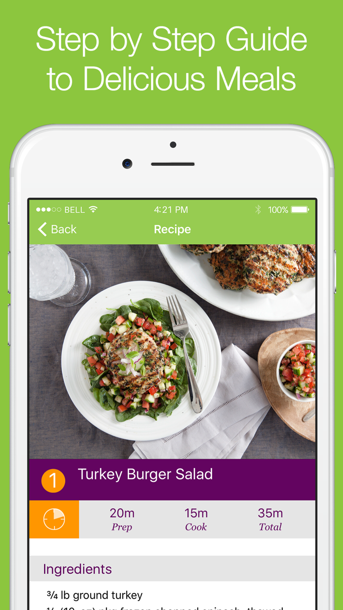 eMeals - Healthy Meal Plans Screenshot