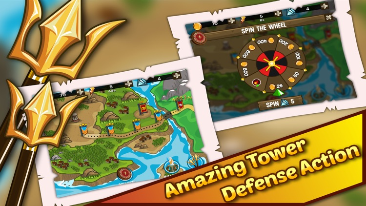 Olympus Defense TD. Fury Rome Gods Rising In Divine Dawn Strategy screenshot-3