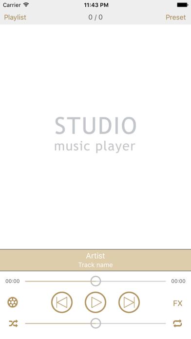 Screenshot #1 pour Studio Music Player | Égaliseur de 48 bandes