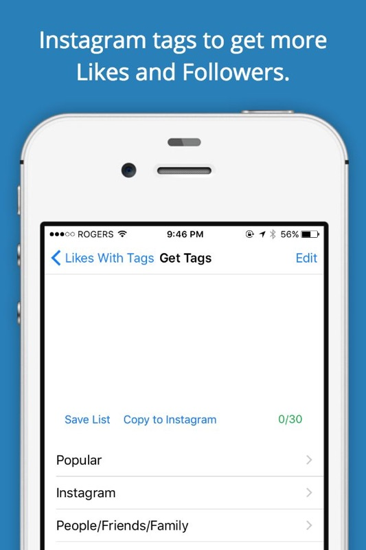Likes with Tags - Instagram tags for Likes - Hashtags