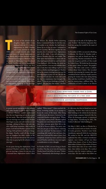The Walk Magazine screenshot-4