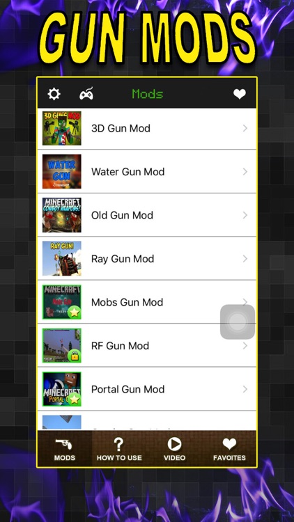 Gun Mods FREE - Best Pocket Wiki & Game Tools for Minecraft PC Edition