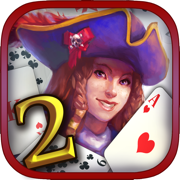 Pirate's Solitaire 2. Sea Wolves