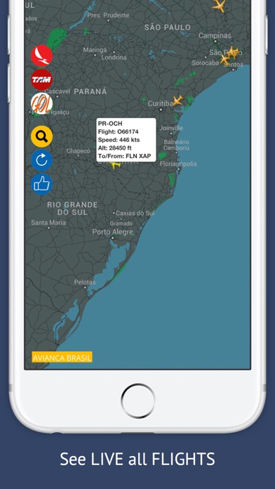 Screenshot of BR Tracker Free : Live Flight Tracking & Status3
