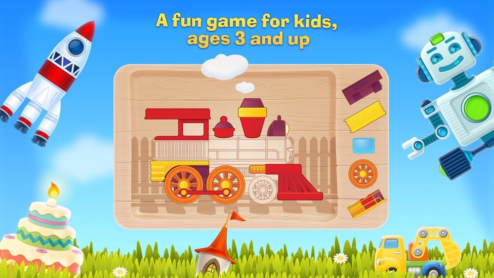 Tim the Fox - Puzzle - free preschool puzzle game hack tool