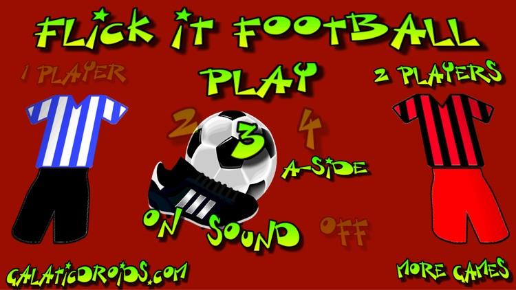 Flick It Football 3d screenshot-0