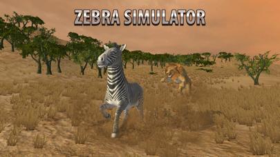 Zebra Simulator 3D Full - African Horse Survival screenshot three