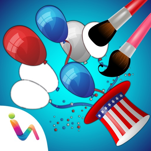 Independence Day Coloring Books - 4th Of July Special Edition