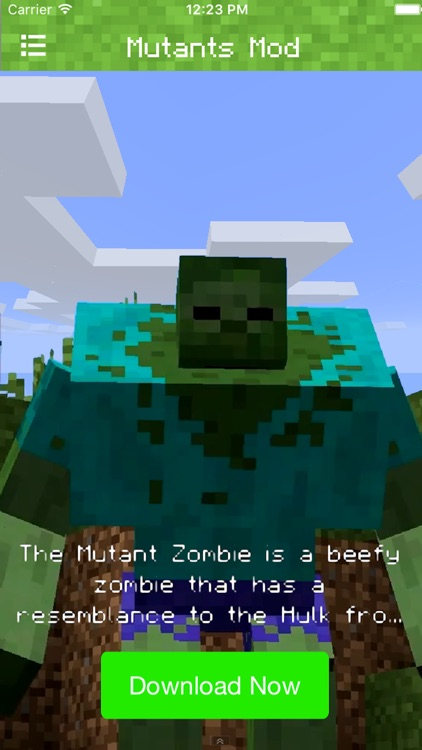 Mutant Creatures Mod for Minecraft PC Edition - Pocket Mods Guide