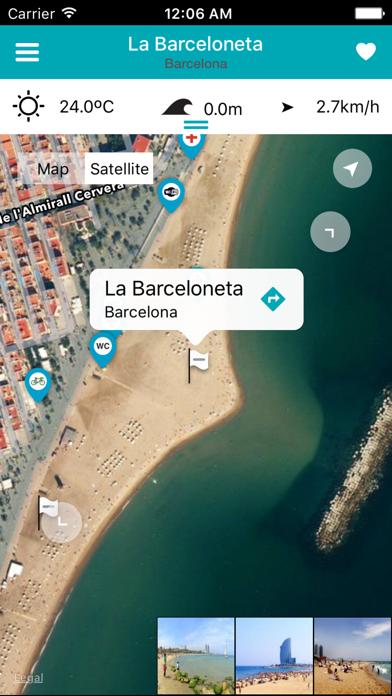 iBeach: Encuentra tu playa (fotos, meteo, olas...)のおすすめ画像1