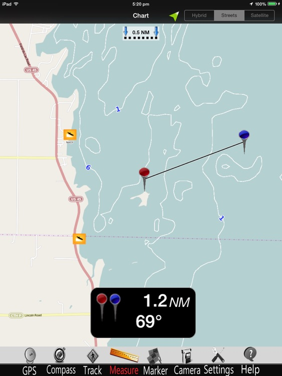 Wisconsin Lakes GPS Charts Pro screenshot-0
