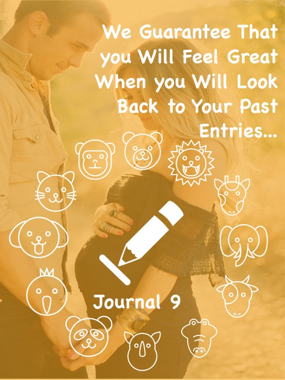 Journal 9 Pro- Diary With Lock screenshot-4