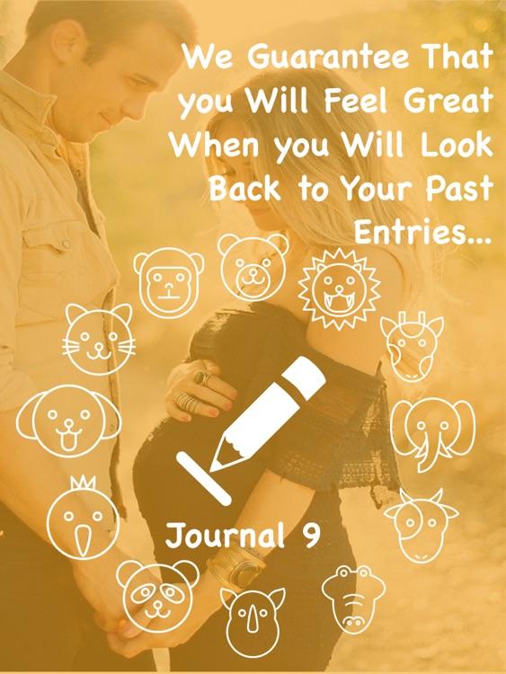 Journal 9 Pro - My Daily Diary screenshot-4