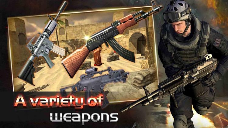 Commando Shooter : Battle - fps shooting game screenshot-4