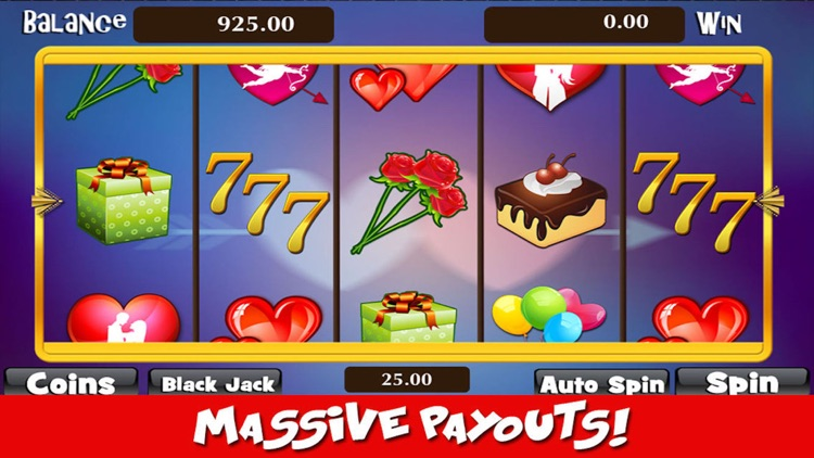 I Love Slots Machine: Lucy Blackjack, Roulette and Prize Wheel Gambler