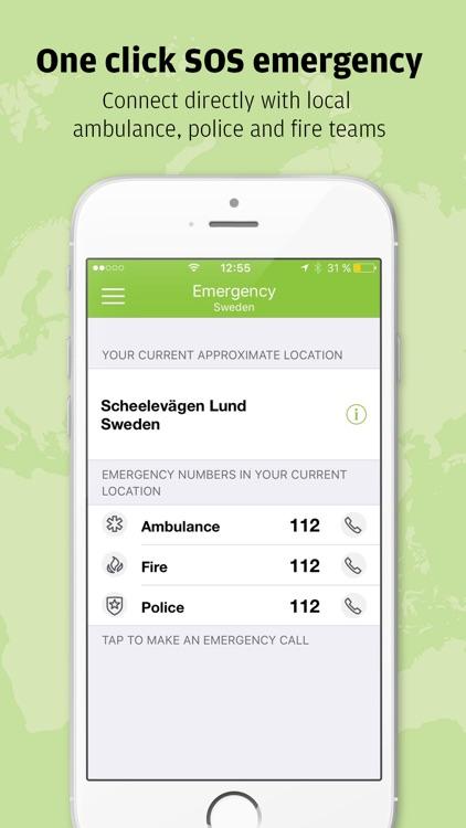 Safeture - Travel safe with smart security screenshot-4