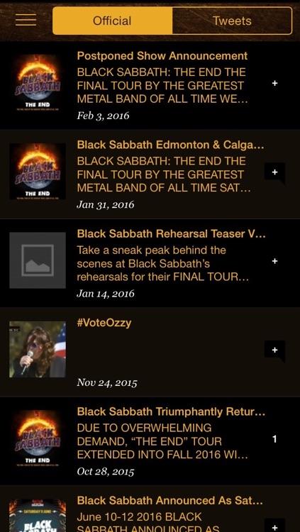 The Official Ozzy Osbourne App screenshot-4