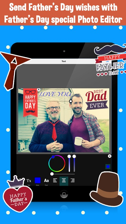 Father's Day Photo Editor
