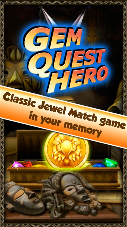 Gem Quest Hero - An ancient mania travel of jewel screenshot-4
