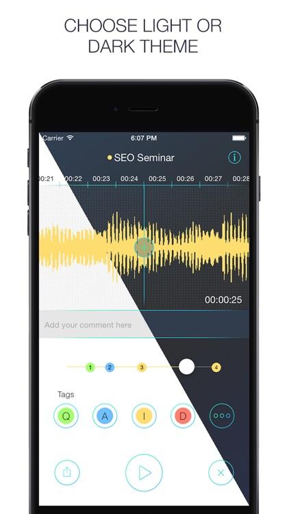 RecApp - The Most Advanced Voice Recorder screenshot-3
