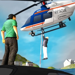 911 Rescue Helicopter Flight Simulator - Heli Pilot Flying Rescue Missions