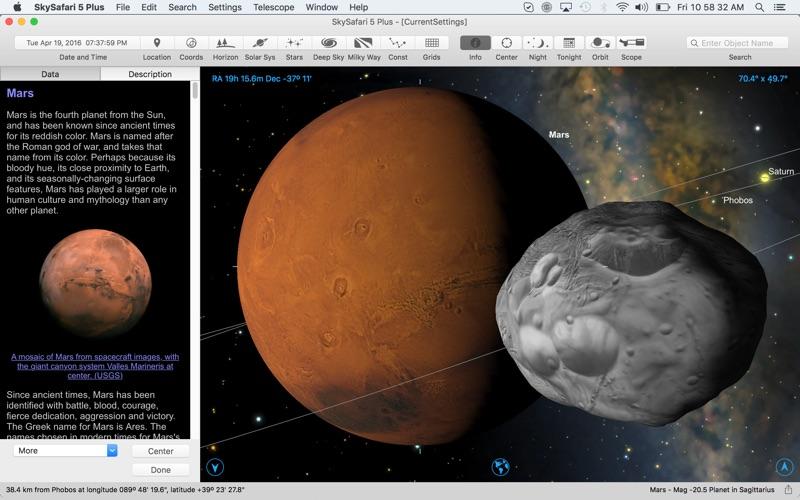 Screenshot #2 pour SkySafari 5 Plus