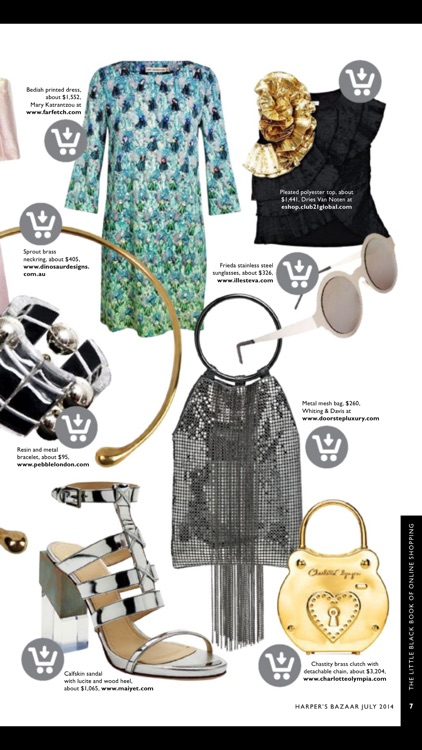 BAZAAR Online Shopping Guide by Magzter Inc