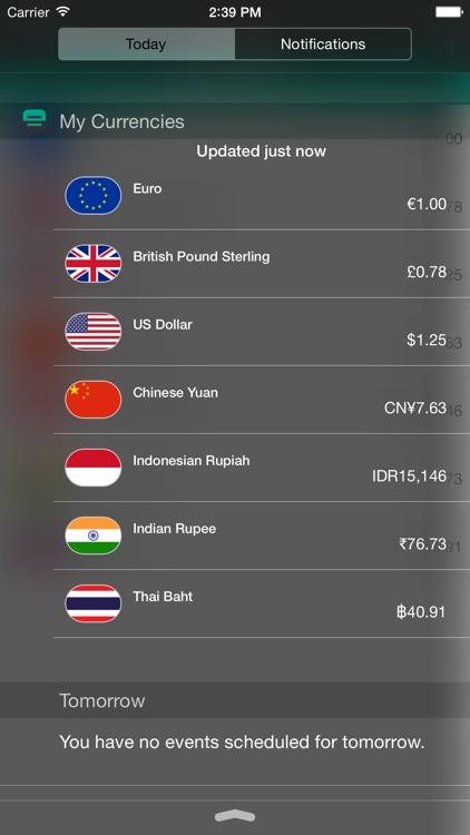 My Currencies Premium - foreign exchange converter calculator - convertible money -