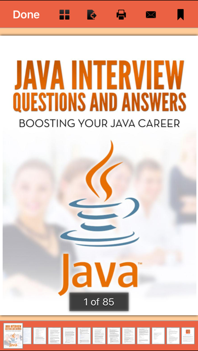 316 Java Interview Questions and Answers Screenshot