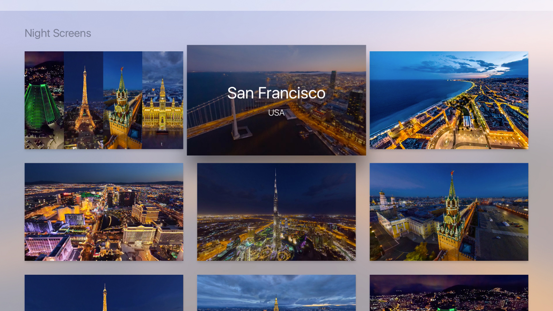 AirPano Night – Aerial Screensavers screenshot 2