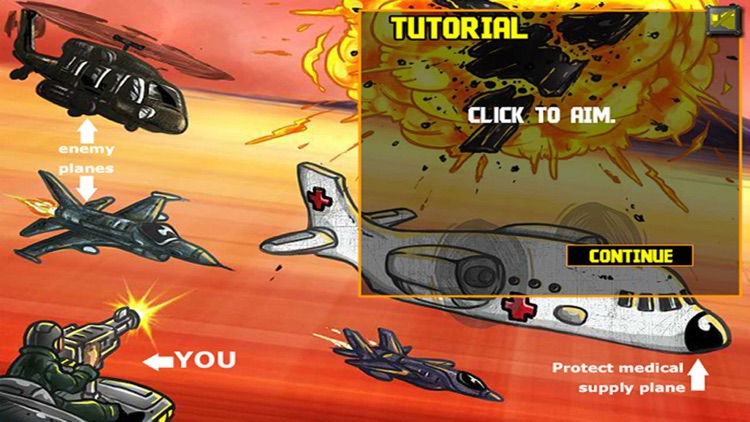 Air Attack War:Strike Fighters - Sky Tower Defense Game by