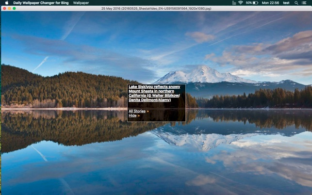 daily wallpaper for bing on the mac app store