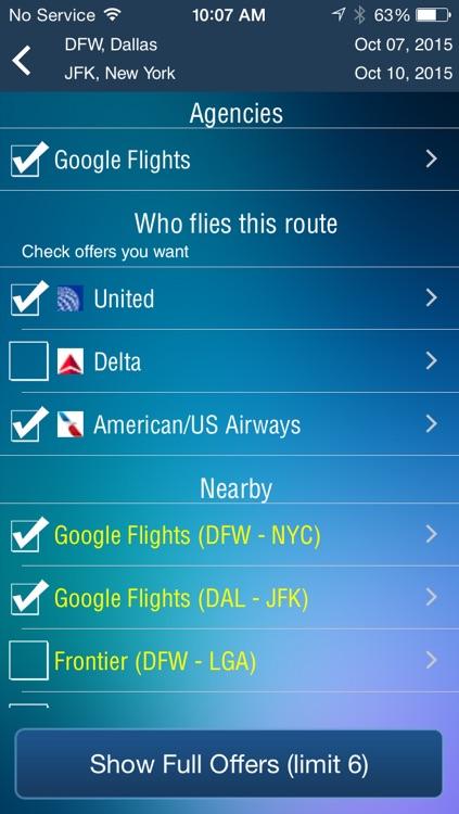 Dallas Fort Worth Airport (DFW) Flight Tracker Radar screenshot-3