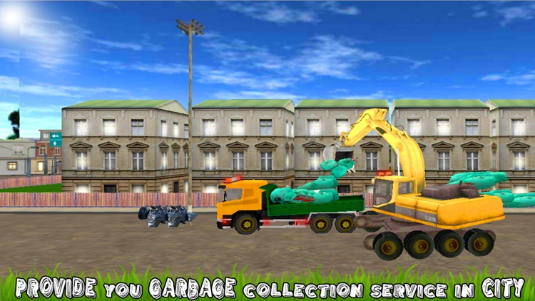 City Excavator Garbage Truck screenshot-3