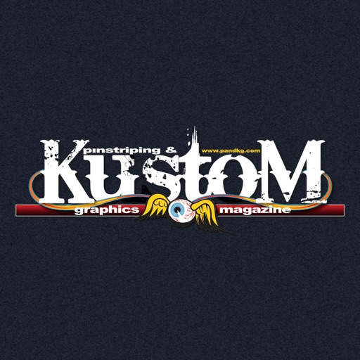 Pinstriping & Kustom Graphics Magazine